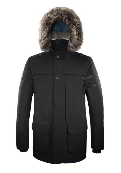 Parka Homme Wool Spirit noir
