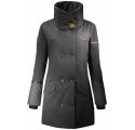 Manteau en laine CITY WOOL Grey