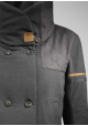MANTEAU CITY WOOL grey